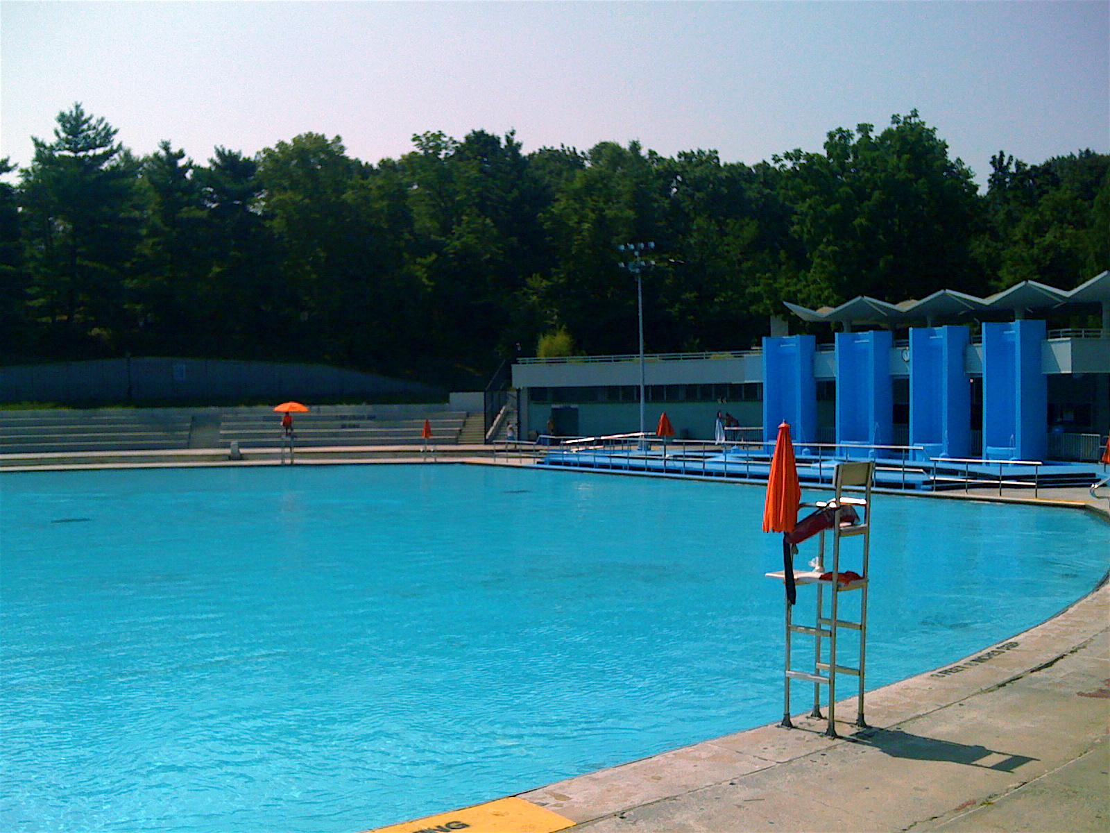 Harlem Lasker Pool In Central Park