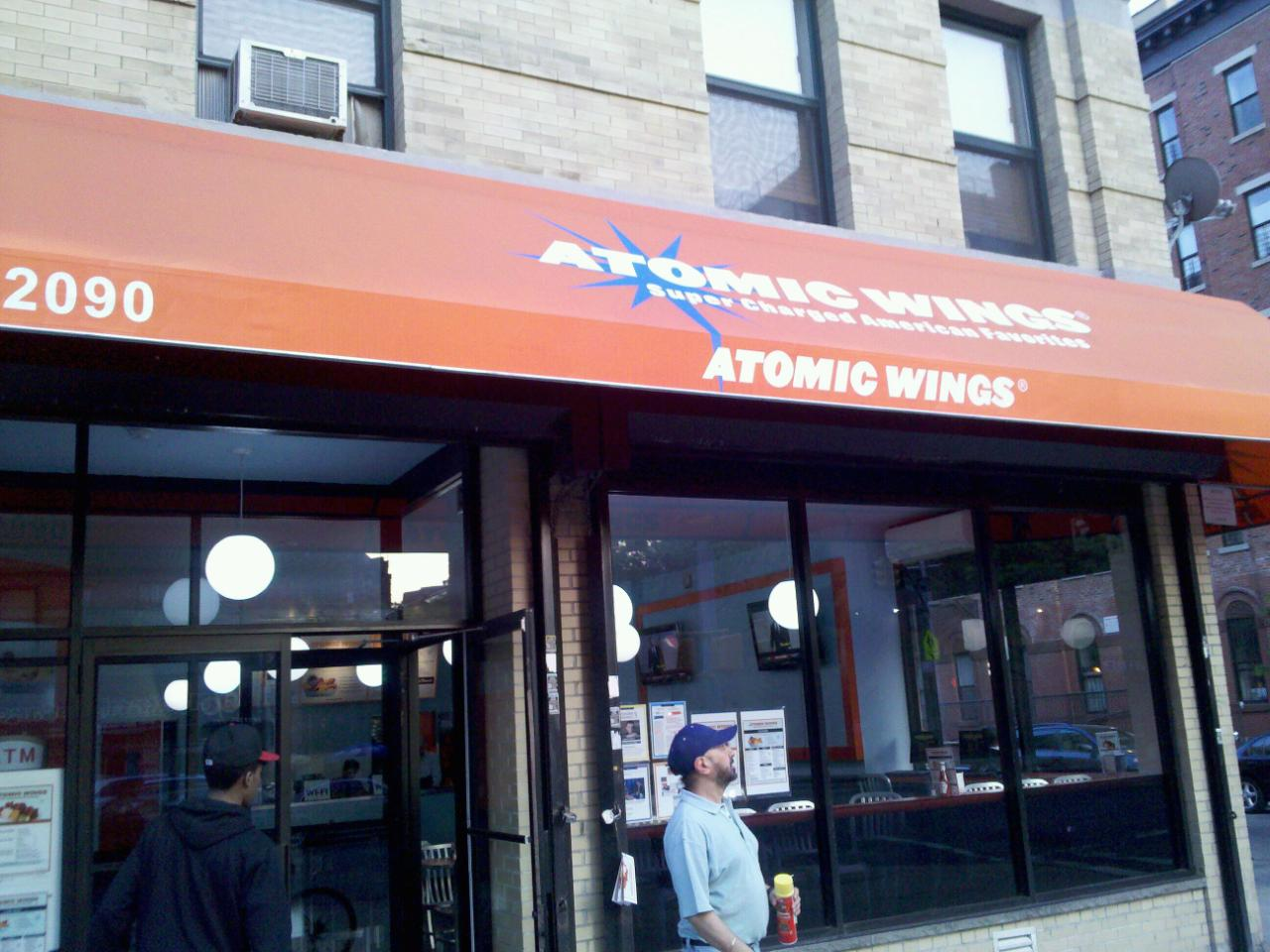 Atomic Wings Reopens On Harlem&#039;s Gold Coast