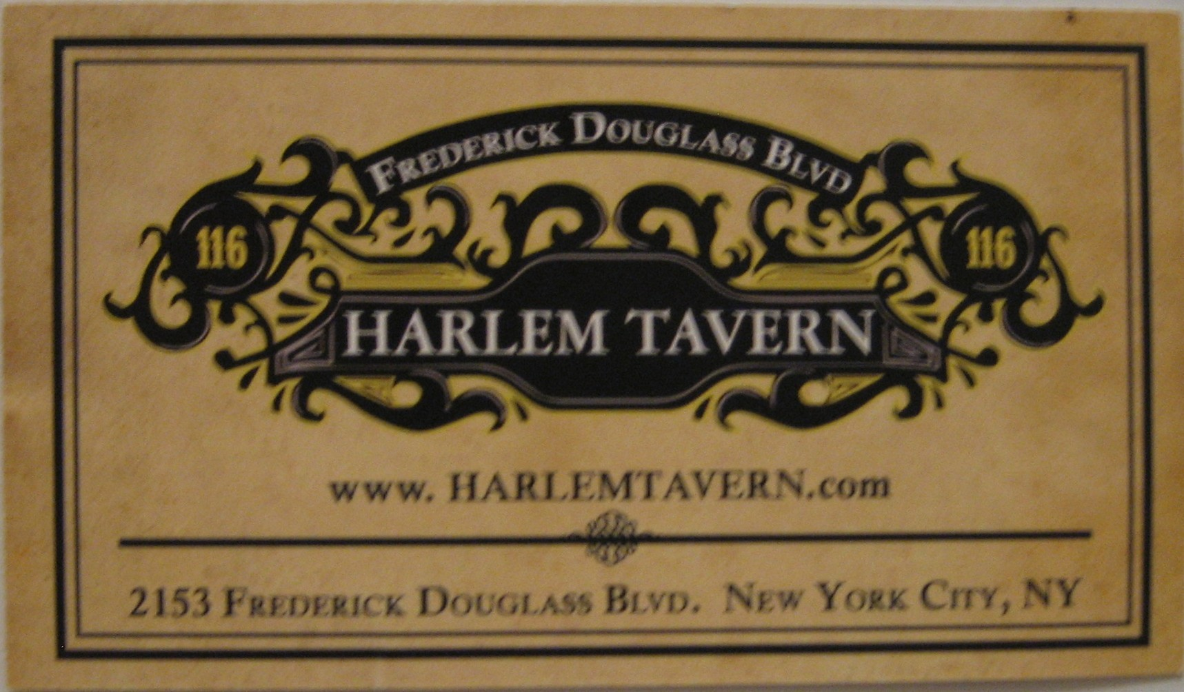 Lunch at Harlem Tavern