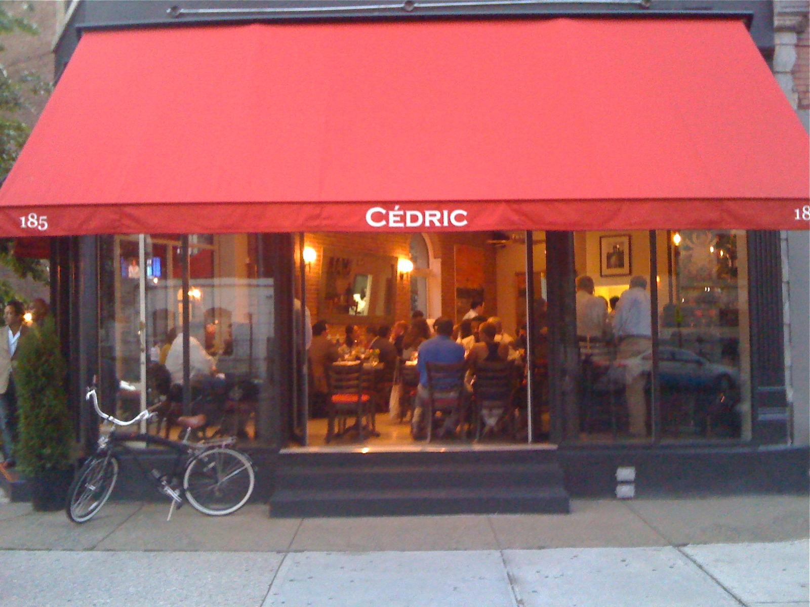 Grand Opening of CEDRIC French Bistro - Bar in Harlem