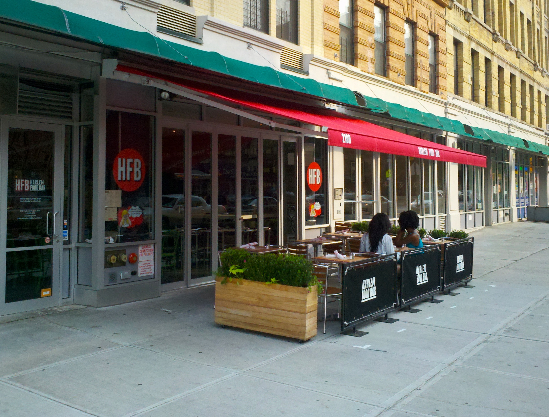 Harlem food bar just got even better new awning for Food bar harlem