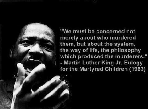 MLK Jr's Eulogy for the Martyred Children