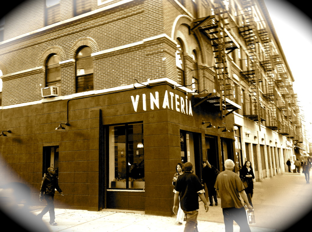 Vinateria in Harlem - Menu Review