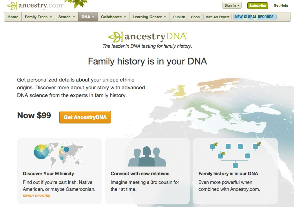 MyHeritage DNA | Reveal your Ethnicity & Ancestry | DNA Testing - MyHeritage.